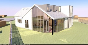 Creationdesign Wales Proposed extension and alterations to bungalow